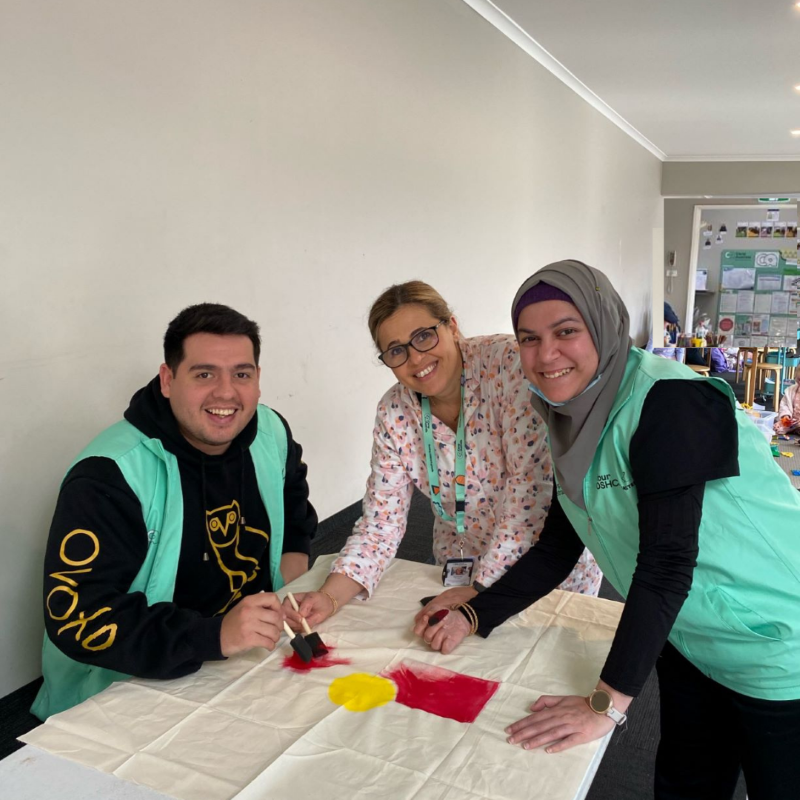 Making steps towards healing and reconciliation - a story of our journey at Camp Australia