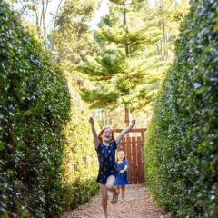 Adventure: A-maze-ing Outdoor Play at Perth's Outback Splash